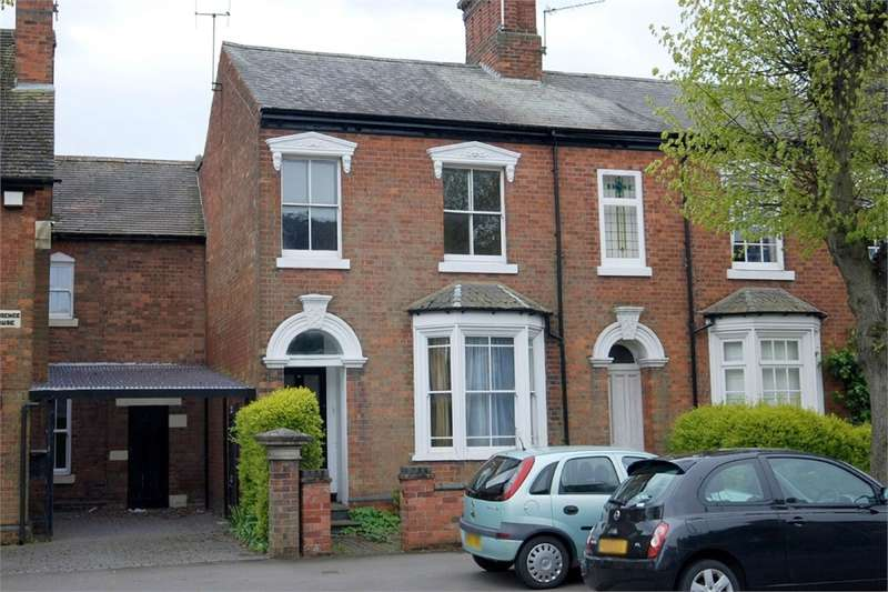4 Bedrooms Terraced House for sale in Clifton Road, RUGBY, Warwickshire