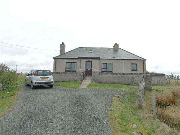3 Bedrooms Detached Bungalow for sale in Isle of Lewis, Lower Shader, Isle of Lewis, Western Isles