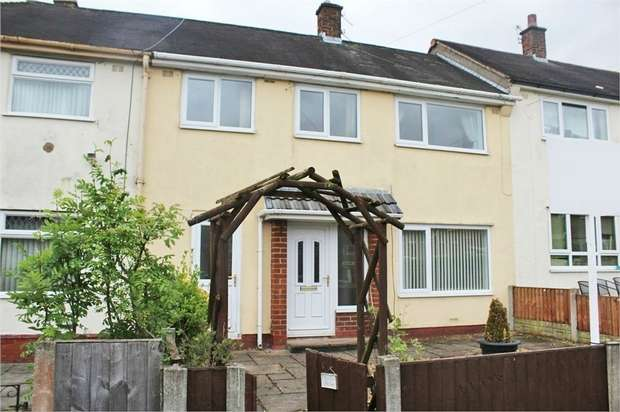 3 Bedrooms Terraced House for sale in Birkdale Drive, Ashton-on-Ribble, Preston, Lancashire