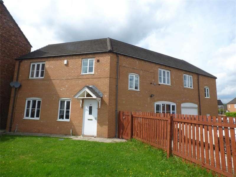 4 Bedrooms Semi Detached House for sale in Cobblestones Drive, Illingworth, HALIFAX, West Yorkshire, HX2