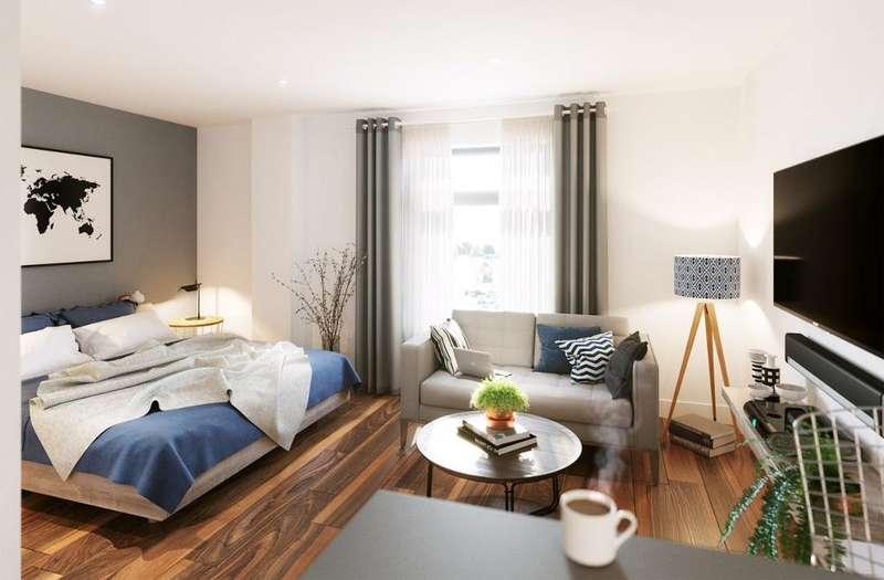 1 Bedroom Apartment Flat for sale in High Street, Harborne, Birmingham, B17 9NJ