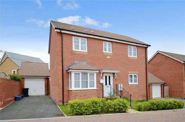3 Bedrooms Detached House for sale in Sorrel Place, Newton Abbot, Devon