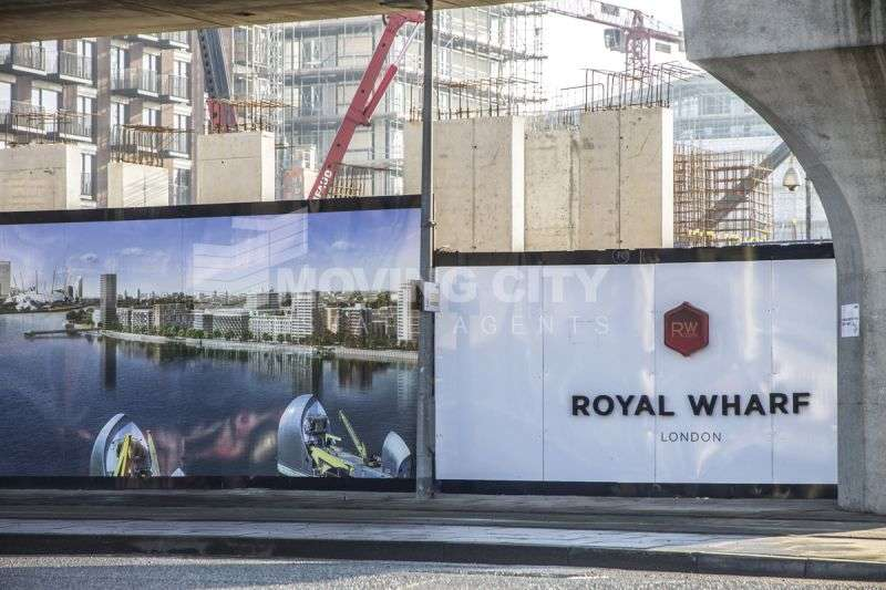 Apartment Flat for sale in Sienna House, Royal Wharf, Royal Docks, E16