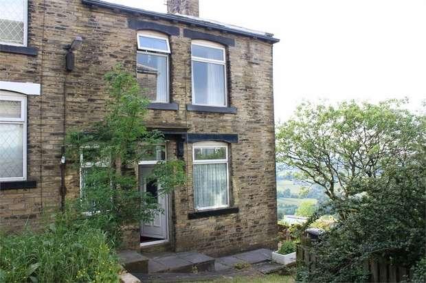 2 Bedrooms End Of Terrace House for sale in Crossley Street, Queensbury, Bradford, West Yorkshire