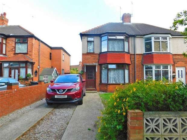2 Bedrooms Semi Detached House for sale in Hotham Road North, Hull, East Riding of Yorkshire