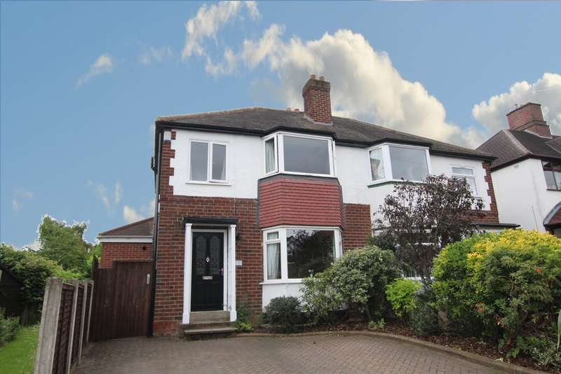 3 Bedrooms Semi Detached House for sale in Douglas Road, Sutton Coldfield, B72 1NG