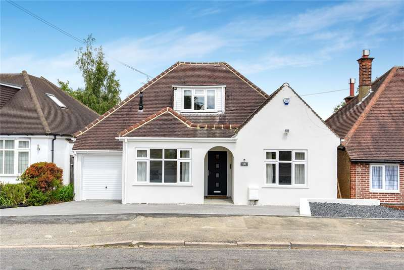 4 Bedrooms Detached Bungalow for sale in Hillside Crescent, Northwood, Middlesex, HA6