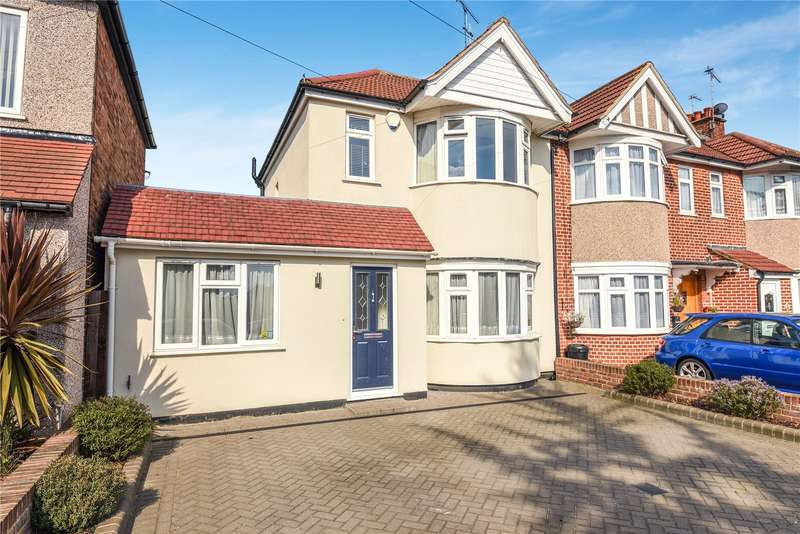 4 Bedrooms End Of Terrace House for sale in Ashburton Road, Ruislip, Middlesex, HA4