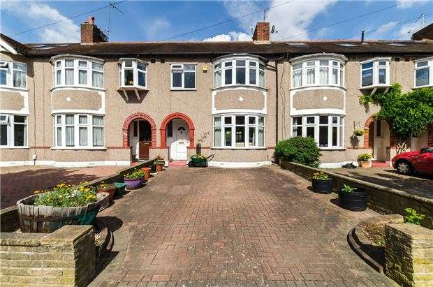 3 Bedrooms Terraced House for sale in Camborne Road, MORDEN, Surrey, SM4 4JL
