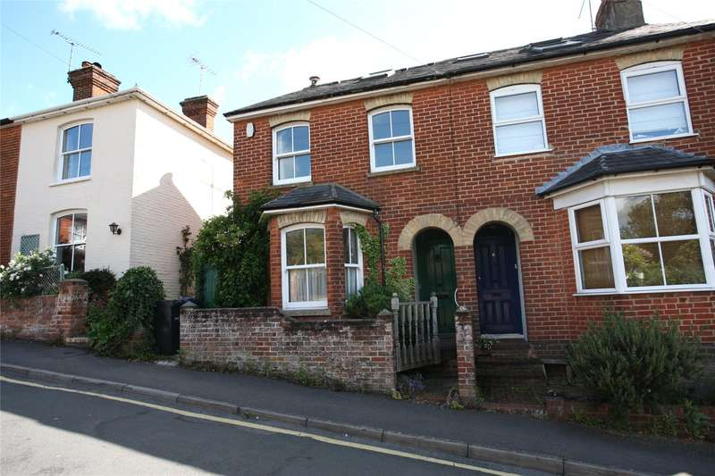 3 Bedrooms Semi Detached House for sale in Upper South View, Farnham, Surrey, GU9