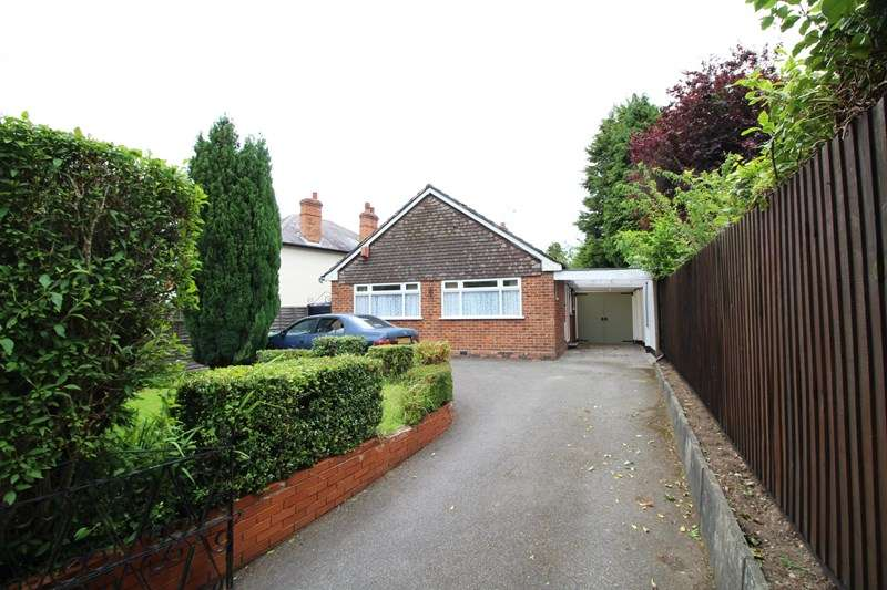 3 Bedrooms Detached Bungalow for sale in Redstone Farm Road, Hall Green, Birmingham