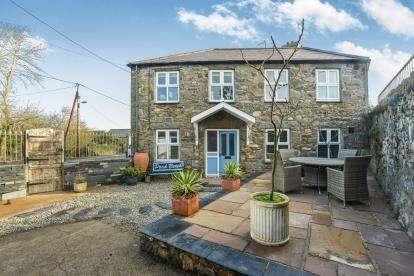 3 Bedrooms Detached House for sale in Lon Isaf, Morfa Nefyn, Pwllheli, Gwynedd, LL53