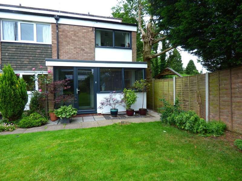 2 Bedrooms Terraced House for sale in Springavon Croft, Harborne, Birmingham, B17 9BJ