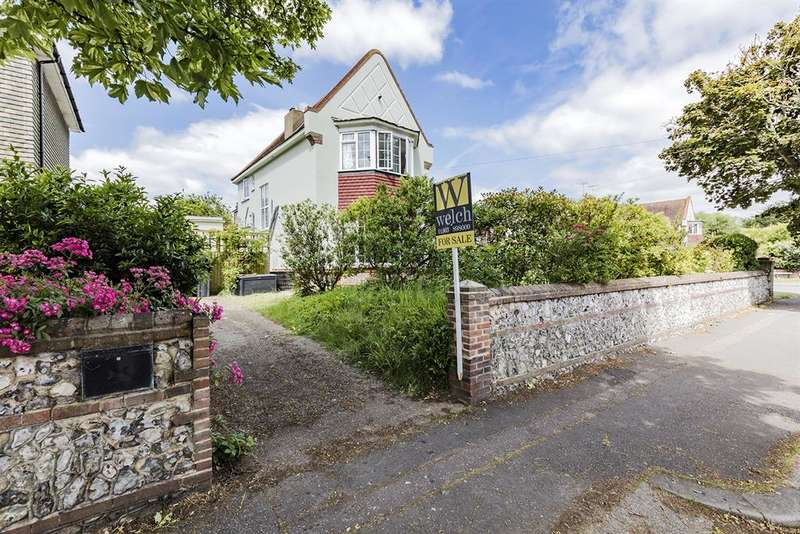 4 Bedrooms Semi Detached House for sale in Manor Road, Worthing, West Sussex, BN11 4RS