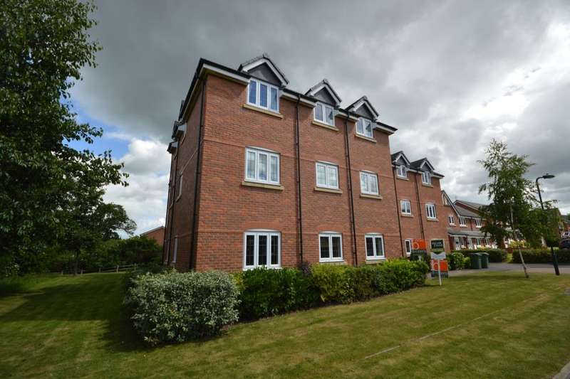2 Bedrooms Flat for sale in Drake Close, Shrewsbury, SY2