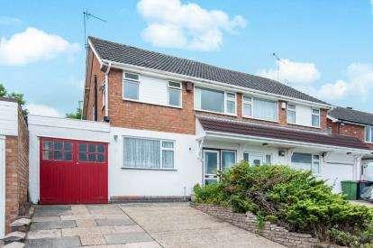 3 Bedrooms Semi Detached House for sale in Norton Road, Coleshill, Birmingham, Warwickshire