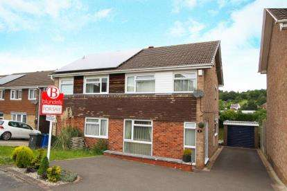 3 Bedrooms Semi Detached House for sale in Windsor Walk, Hasland, Chesterfield, Derbyshire