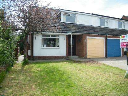 3 Bedrooms Semi Detached House for sale in Lodge Drive, Moulton, Northwich, Cheshire