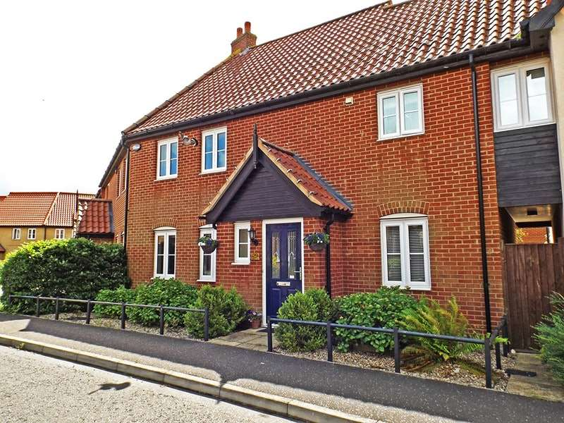 4 Bedrooms Terraced House for sale in Garnett Drive, Norwich, Norfolk, NR9