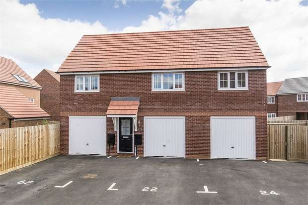 2 Bedrooms Flat for sale in 22 Summerhill Place, Market Harborough, Leicestershire