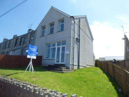 2 Bedrooms End Of Terrace House for sale in Pistyll Terrace, Pistyll, Pwllheli, Gwynedd, LL53
