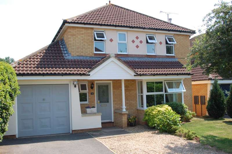 4 Bedrooms Detached House for sale in Nash Green, Taunton
