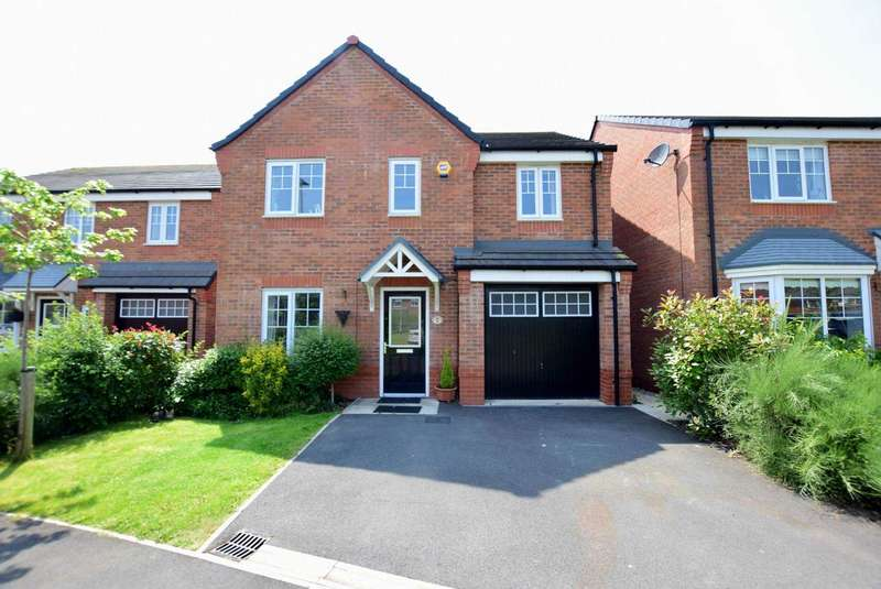 4 Bedrooms Detached House for sale in Primrose Close, Warton