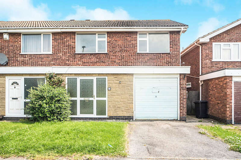 3 Bedrooms Semi Detached House for sale in Goddards Close, LEICESTER, LE4
