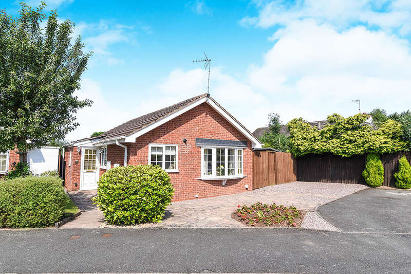 2 Bedrooms Detached Bungalow for sale in Brantwood Close, Droitwich, WR9