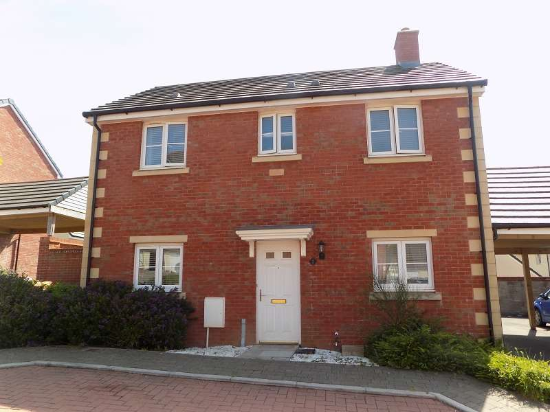 3 Bedrooms Detached House for sale in Maes Yr Eos, Coity, Bridgend. CF35 6DJ