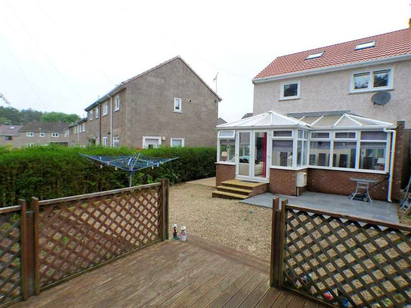 3 Bedrooms End Of Terrace House for sale in Strathcona Place, Murray, EAST KILBRIDE