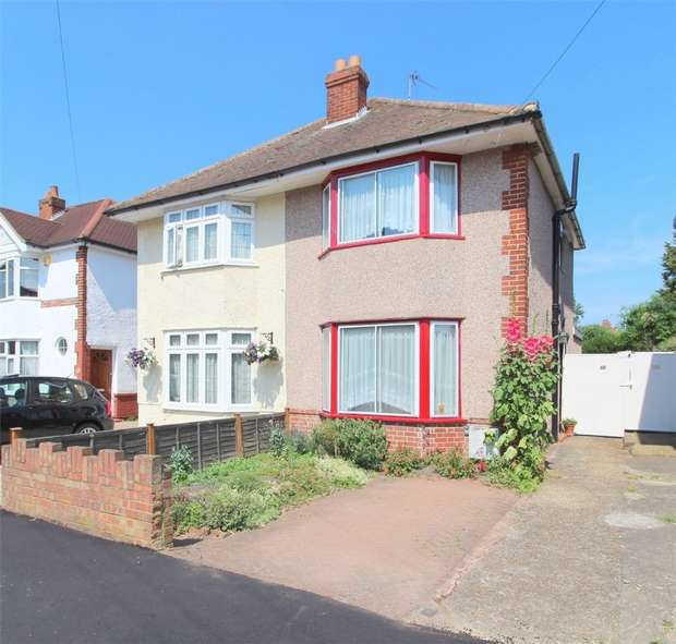 2 Bedrooms Semi Detached House for sale in Denison Road, Lower Feltham, Middlesex