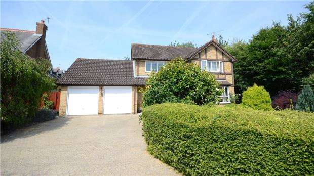 4 Bedrooms Detached House for sale in Bluebell Meadow, Winnersh, Wokingham