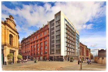 1 Bedroom Flat for sale in Bell Street, Merchant City, Glasgow
