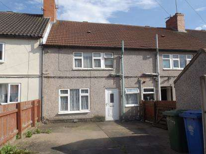 3 Bedrooms Terraced House for sale in Third Avenue, Forest Town, Mansfield, Nottinghamshire