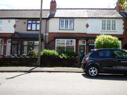 2 Bedrooms Terraced House for sale in Beechwood Road, Kings Heath, Birmingham, West Midlands
