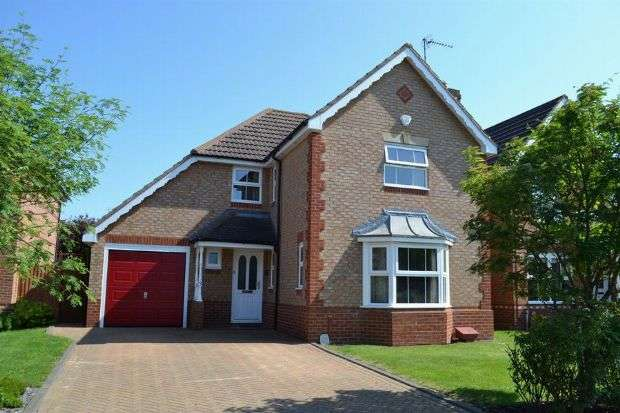 4 Bedrooms Detached House for sale in Milton Bridge, Wootton Fields, Northampton NN4 6AT
