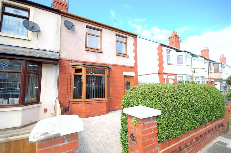 2 Bedrooms End Of Terrace House for sale in Endsleigh Gardens, Blackpool