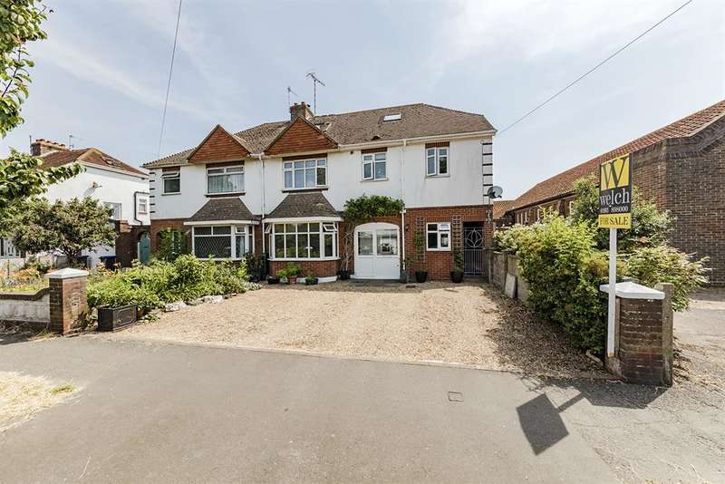 5 Bedrooms Semi Detached House for sale in Southwick Street, Southwick, West Sussex, BN42 4TJ