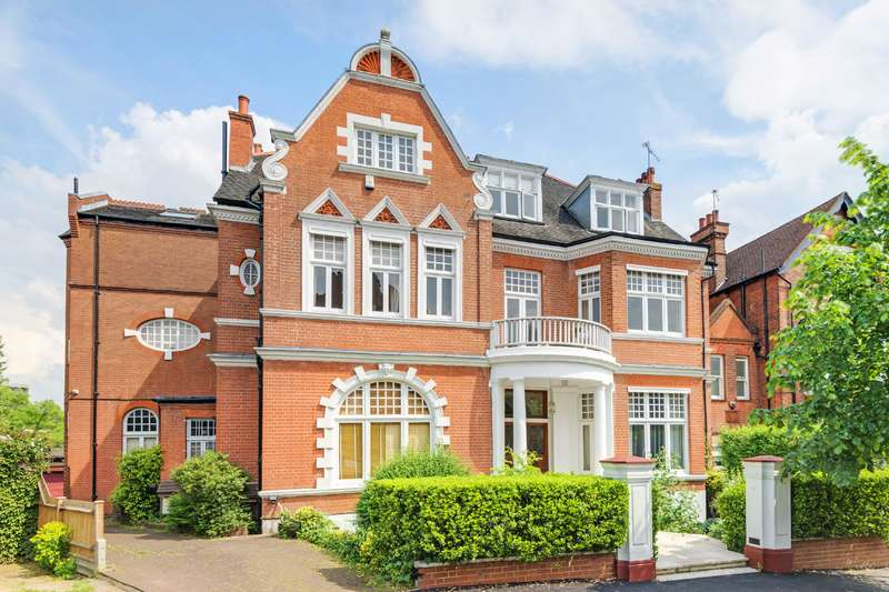 Flat for sale in Crediton Hill, West Hampstead