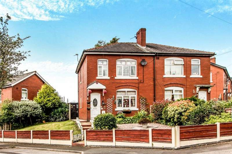 3 Bedrooms Semi Detached House for sale in Poplar Avenue, Bury, BL9