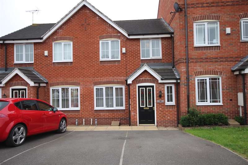 3 Bedrooms Town House for sale in Redbridge Close, Ilkeston