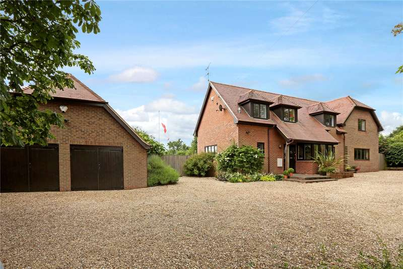 5 Bedrooms Detached House for sale in Sires Hill, North Moreton, Didcot, Oxfordshire, OX11