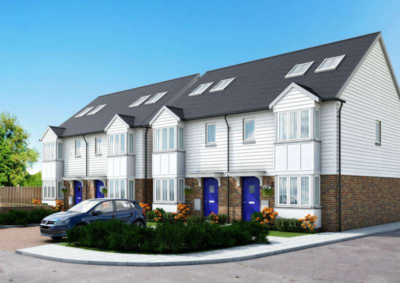 3 Bedrooms Town House for sale in Clock Tower Mews, Clock Tower Parade, Blean, Canterbury, CT2