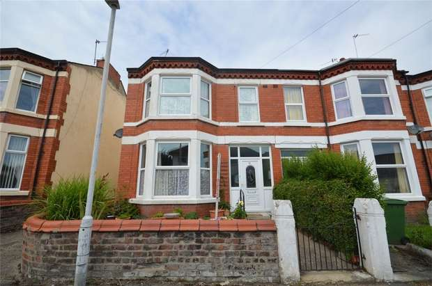 3 Bedrooms End Of Terrace House for sale in Ashbrook Terrace, Bebington, Merseyside