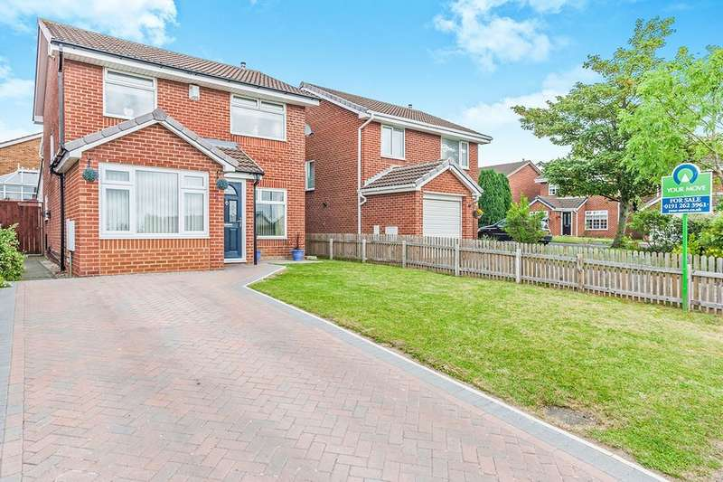 4 Bedrooms Detached House for sale in Lancaster Drive, Wallsend, NE28