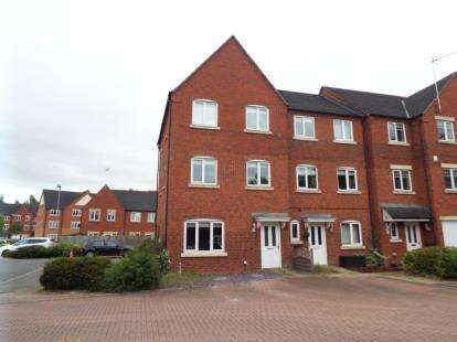 5 Bedrooms End Of Terrace House for sale in Hedgerow Close, Redditch, Worcestershire