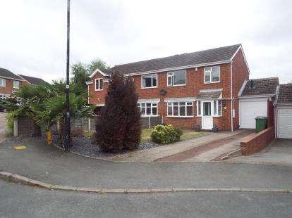 3 Bedrooms Semi Detached House for sale in Julius Drive, Coleshill, Birmingham, Warwickshire