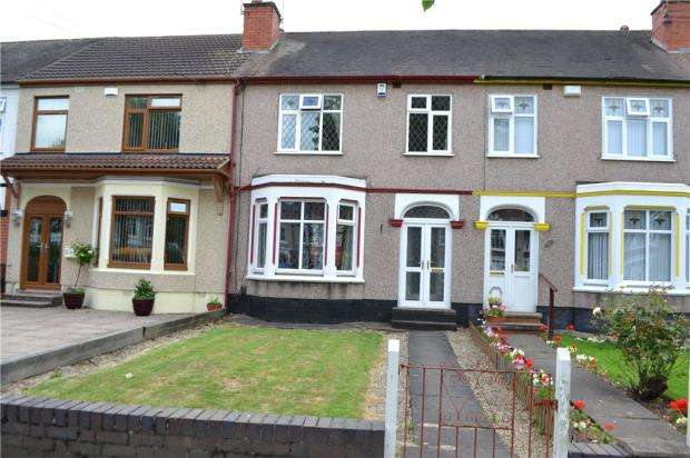3 Bedrooms Terraced House for sale in Allesley Old Road, Allesley, Coventry, West Midlands