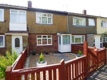 2 Bedrooms Terraced House for sale in Flore Close, Westwood, Peterborough, Cambridgeshire